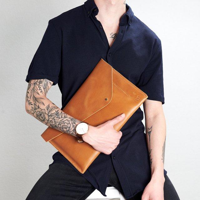 Havana Leather Draftsman 5 Surface Sleeve