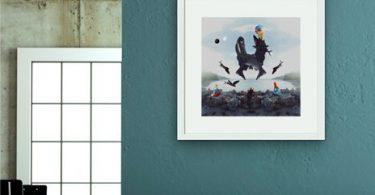 Boston Terrier Giant Canvas Print
