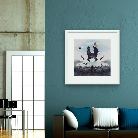 How Beautiful is Forgetting, Fine Art Print by Tof Zapanta