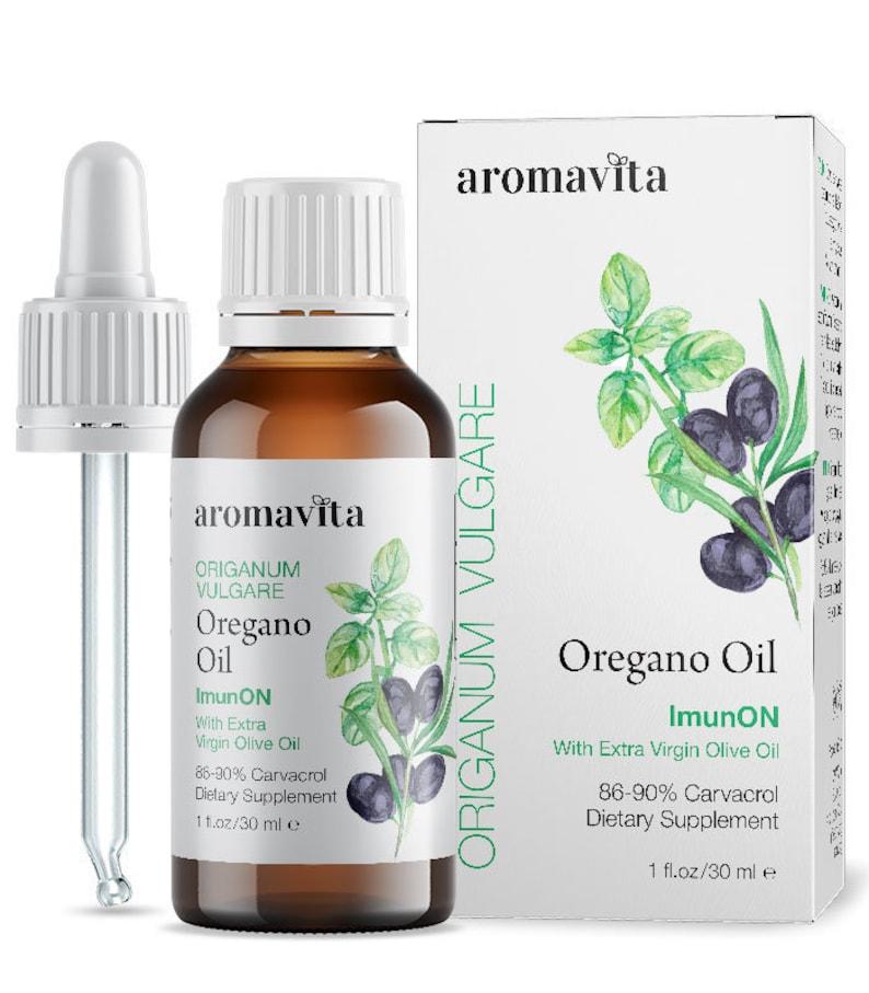 ImunON Greek Oregano Oil  Oregano Essential Oil Over 86-90%