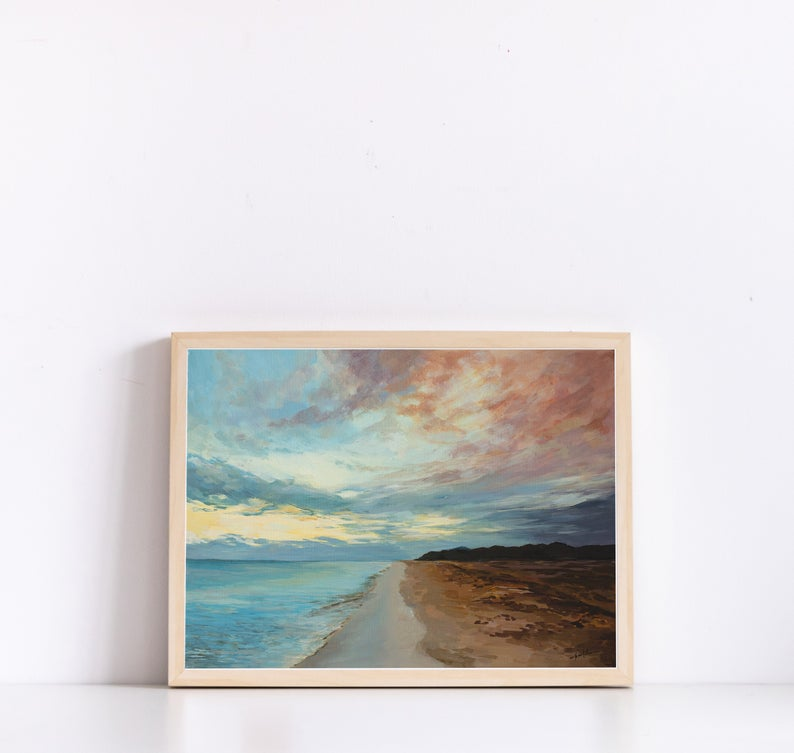 Landscape Wall ArtLandscape Painting PrintGiclee