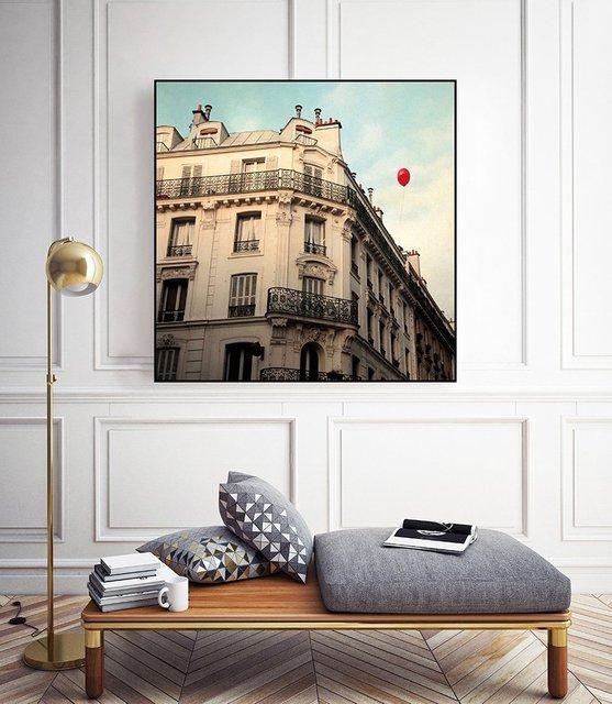 """""""Le Ballon Rouge"""" Art Block Framed by Giant Art"""