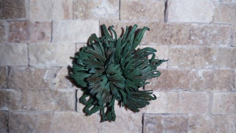 Miniature Staghorn Fern 1/12 scale