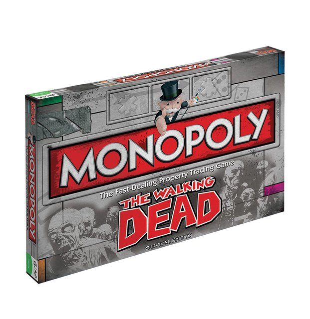 Monopoly Limited Edition The Walking Dead Edition