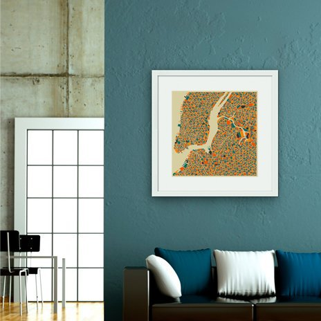 New York- Numbered Art Print by Jazzberry Blue from Curioos