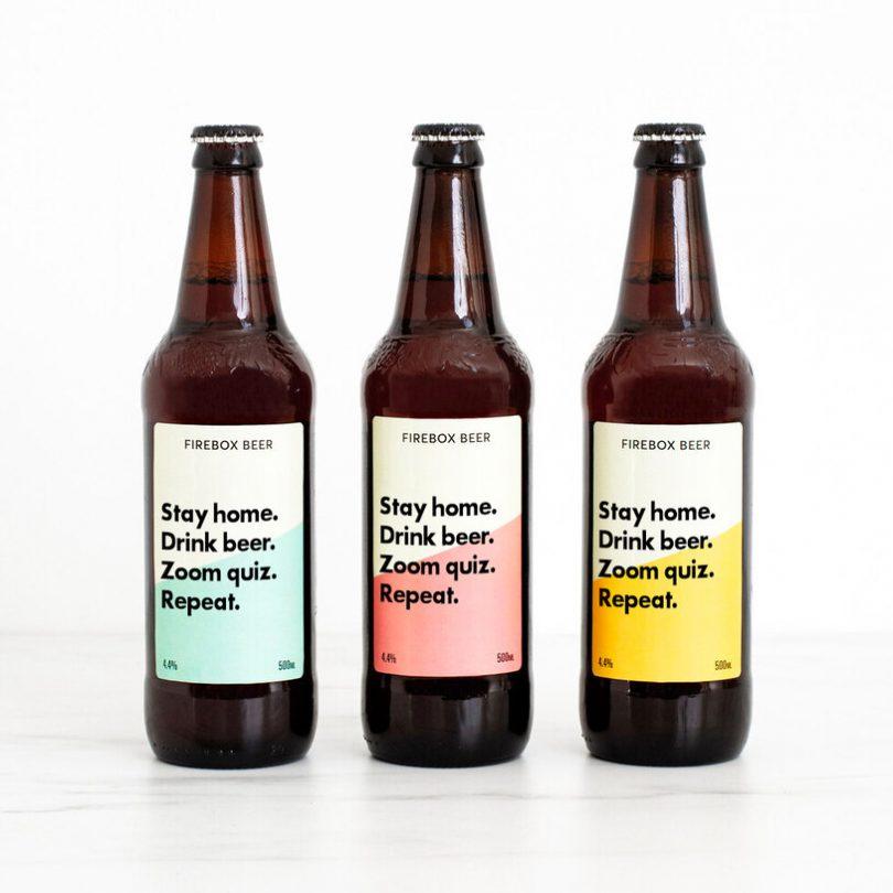 Personalised Beer Trio