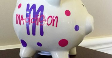 Personalized piggy bank custom piggy bank piggy bank for