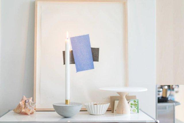 Poise Candleholder
