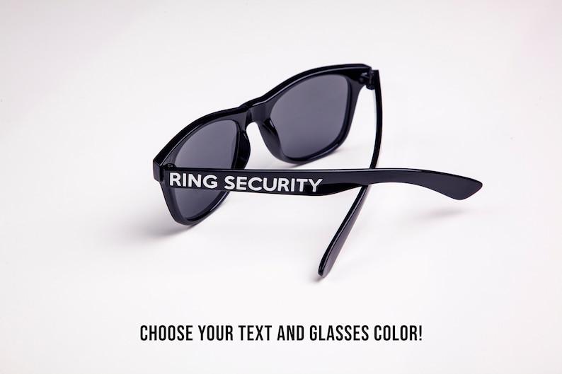 Ring Security Custom Kids or Adult Sized Wedding Ring Bearer
