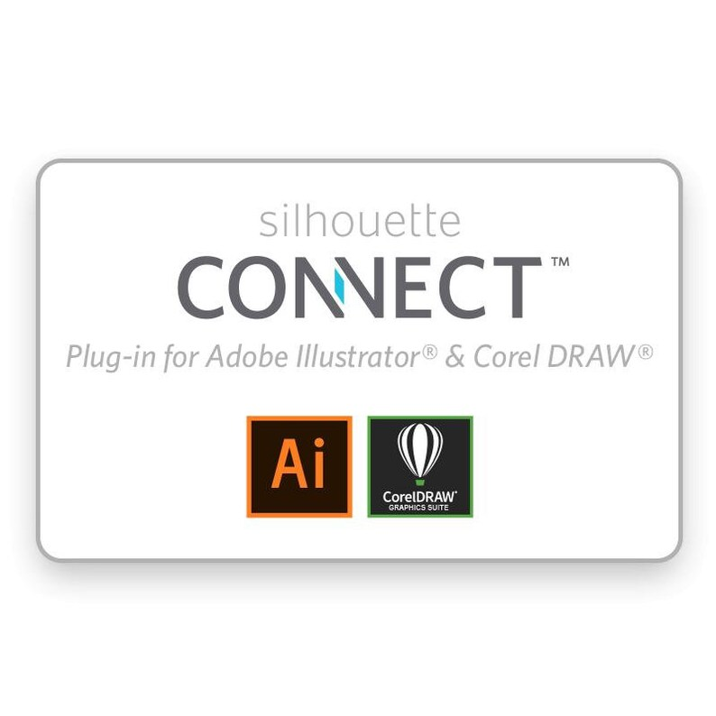 Silhouette CONNECT Plugin Card for Adobe Illustrator or