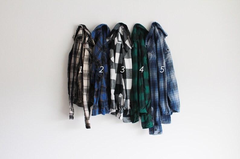 Soft Vintage Oversized Flannels  Choose Your Flannel