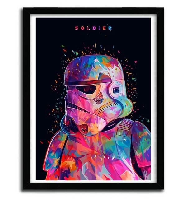 Soldier Print Framed by Alessandro Pautasso