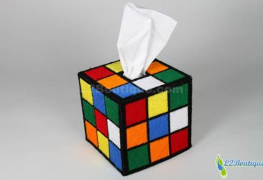 The ORIGINAL & BEST SELLING Rubik's Cube Tissue Box Cover