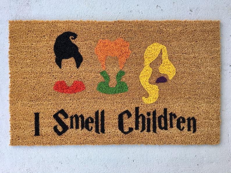 The original Hocus Pocus Doormat Sanderson Sisters Door mat