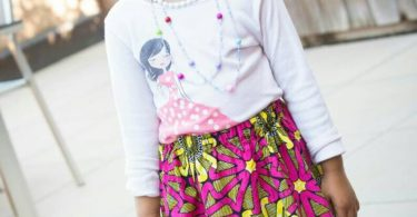 Toddler gift Toddler skirts African clothing African