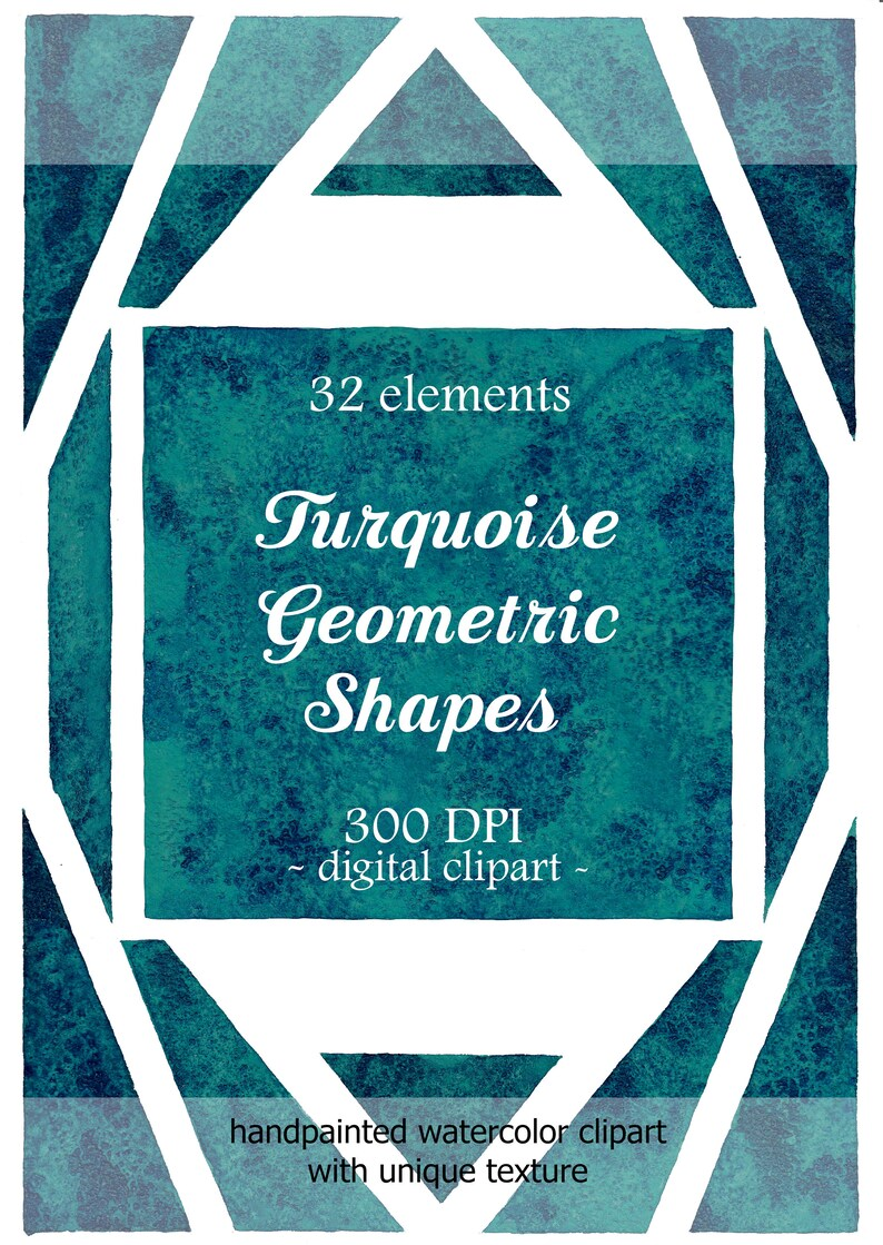 Turquoise blue digital scrapbook collage sheets Dackground