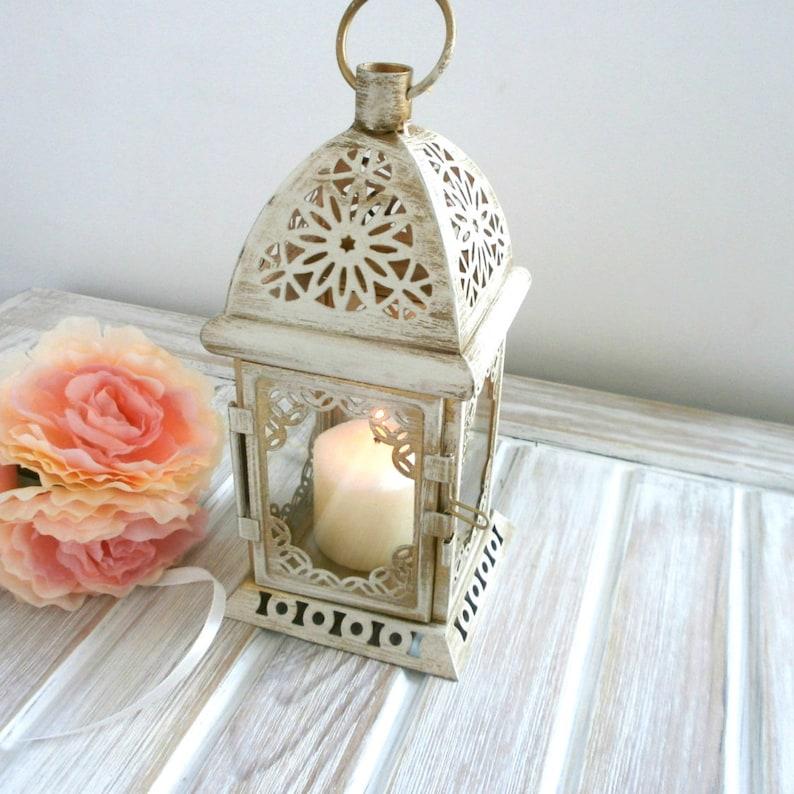 Vintage Moroccan Lantern Shabby chic Lantern Rustic Wedding