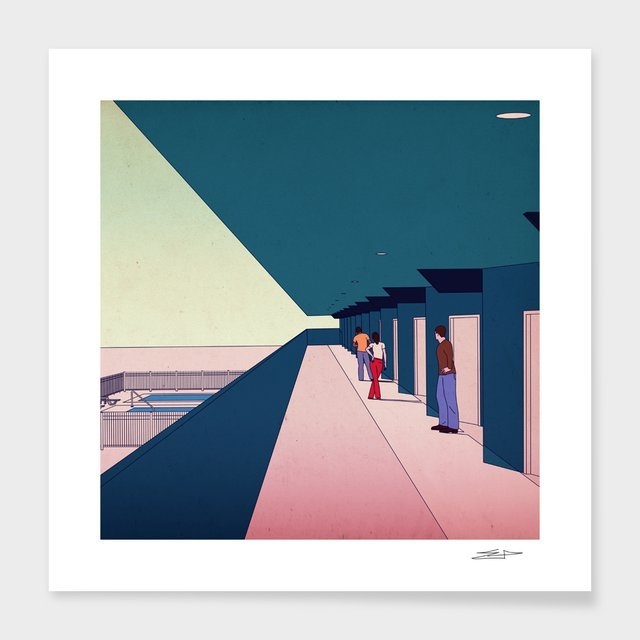 """""""What Happened – Numbered Art Print by Eric Petersen from Curioos"""
