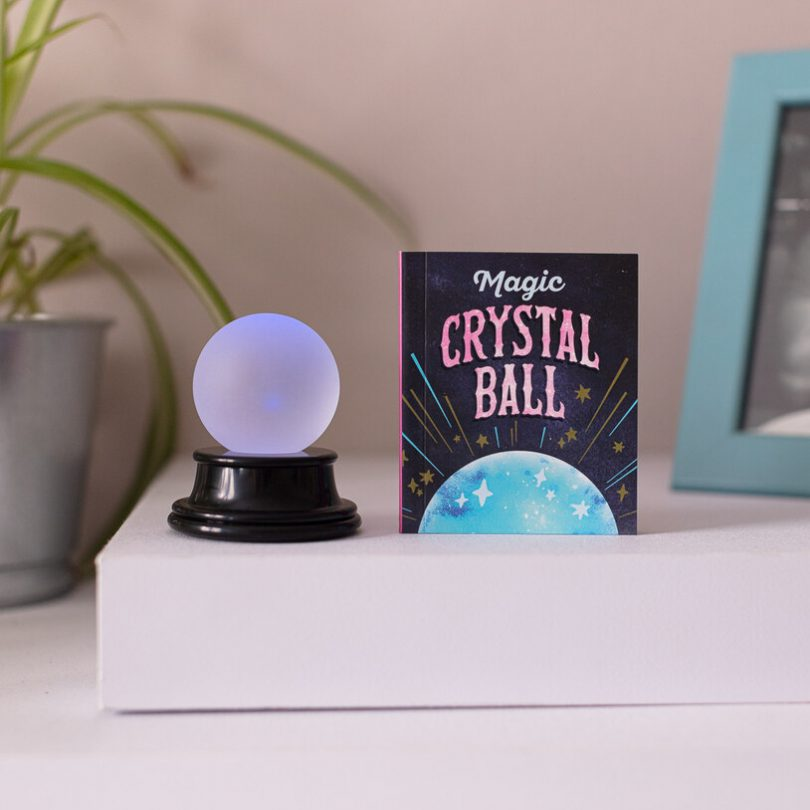 World's Smallest Crystal Ball