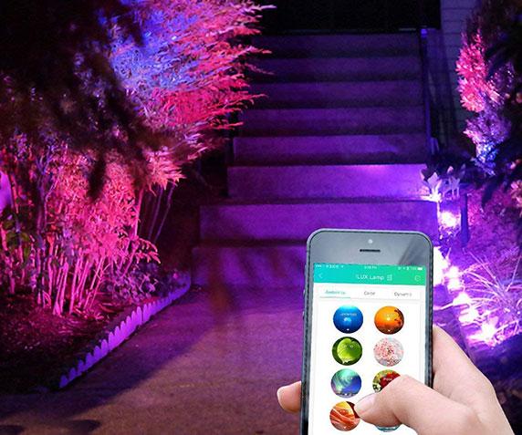 iLUX Smart LED Flood Lights