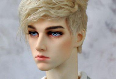 BJD wig  Modern cut  6-7 7-8 8-9