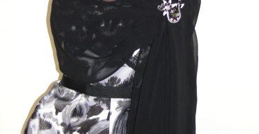 Black chiffon wrapEmerald-Navy  Evening WrapShawl Wedding