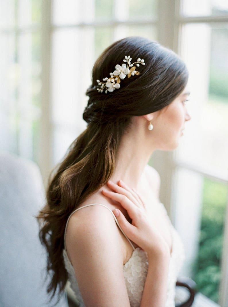 Bridal hair comb wedding comb bridal headpiece wedding