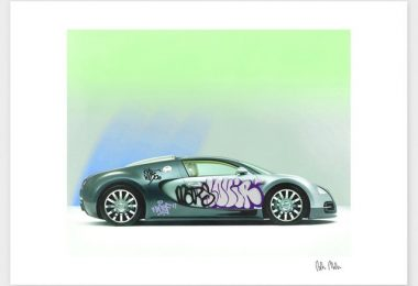 Bugatti Veyron Print by Pedro Molina