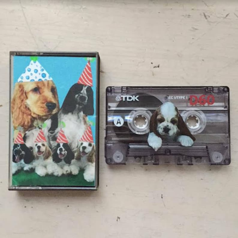 CUSTOM Mixtape Cassette Tape Designed and Curated by YOU