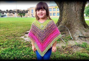 Crochet Poncho Pattern The Queens Poncho Bag O Day Crochet