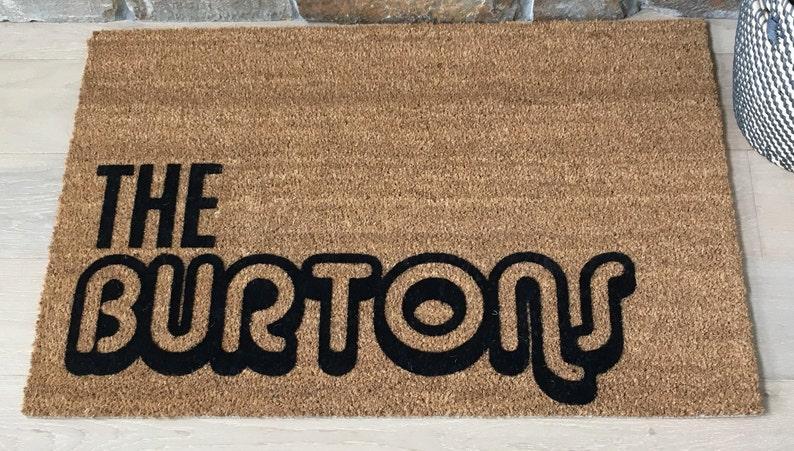Custom Doormat Custom Welcome Mat Personalized Doormat