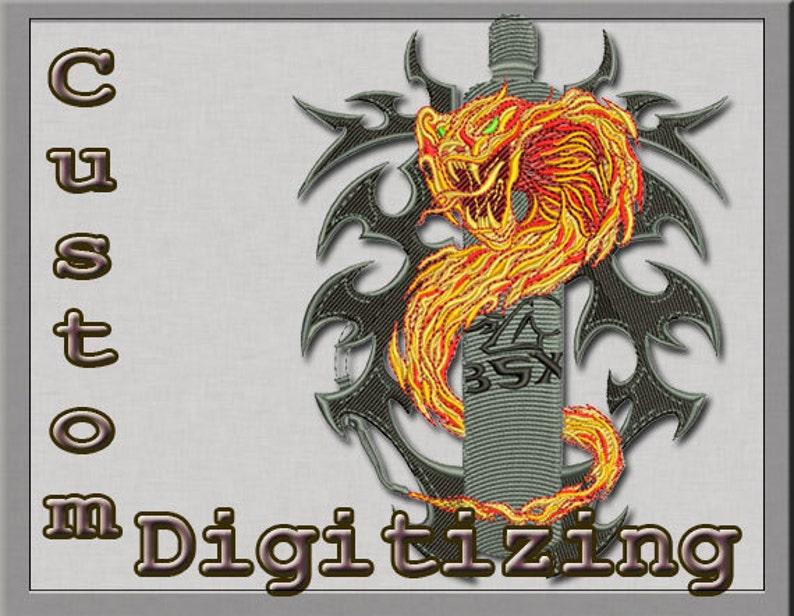 Custom Embroidery Digitizing Service