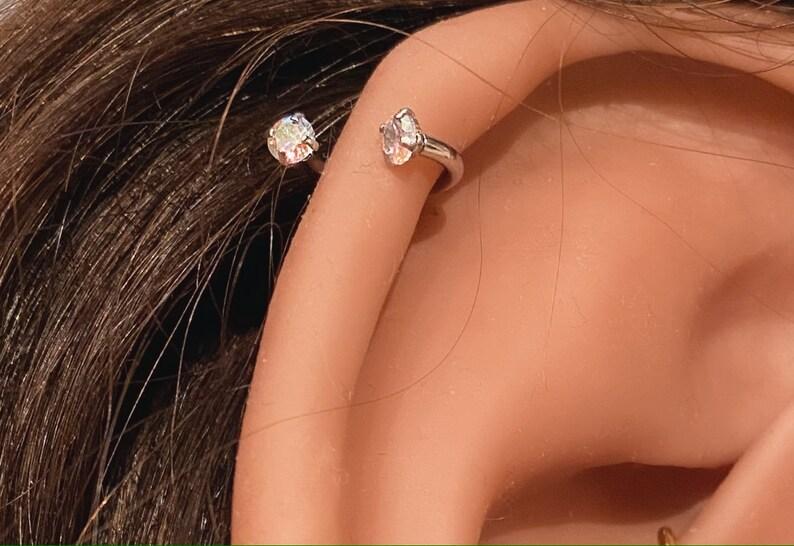 Daith Earring Daith Piercing Rook Earring Rook Piercing Snug