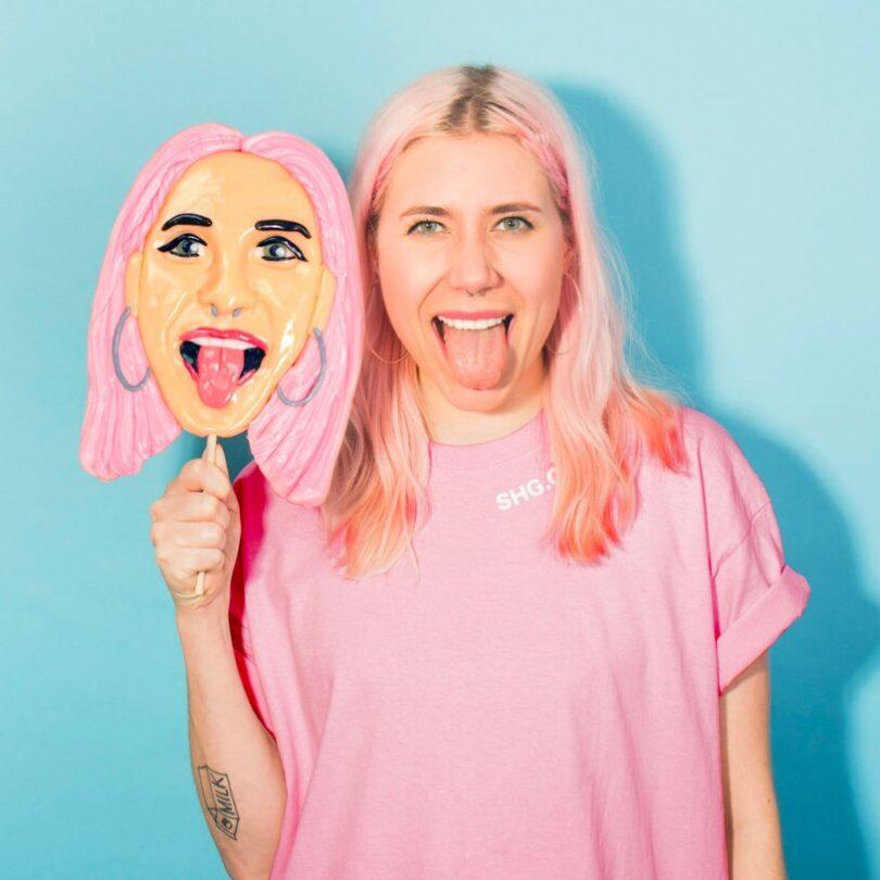 Face Licker – Personalised Face Lollipop