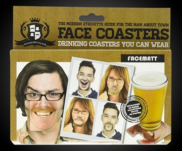 Face Mask Drink Coasters
