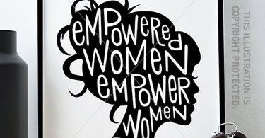 Feminist Art Print/ Feminist Quote / Girl Boss / Empowered