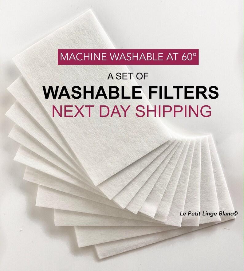 Filter For Face Mask Washable  Sheets For Mask Filter MERV13