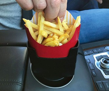 Fries on the Fly Universal Car French Fry Holder