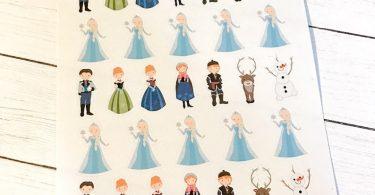 Frozen Planner Stickers  Disney Inspired  Life Planner  EC