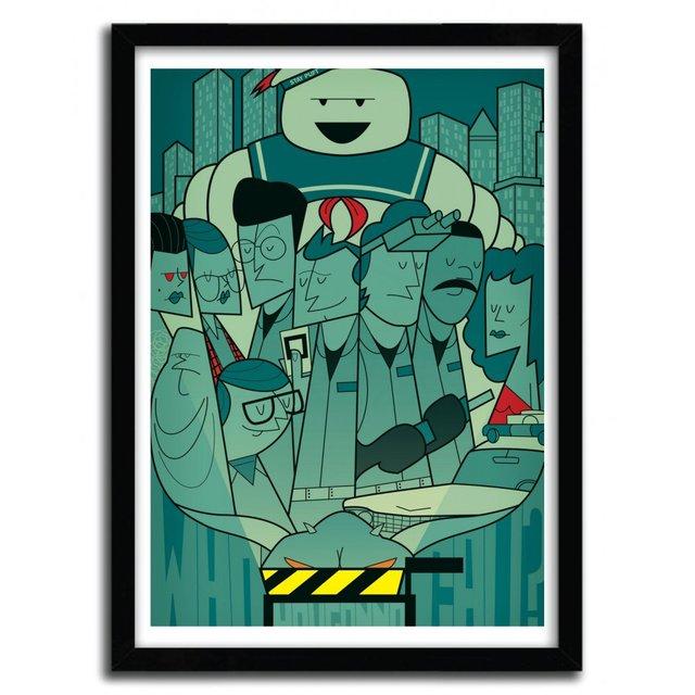 Ghostbusters Art Print by Ale Giorgini