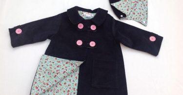 Girls Coat Boys Coat Baby Coat Toddler Coat Duffle Coat