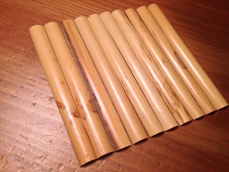 Gouged Oboe Reed Cane
