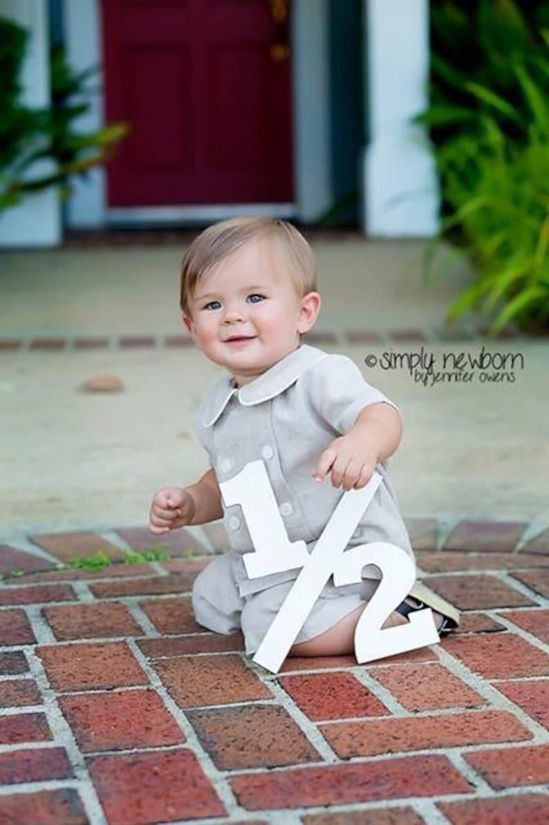 Half Birthday 6 months / Photo Prop/ FREE RUSH Order / NOT