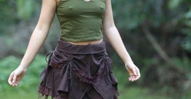 Hippie Skirt Lotus Skirt Fairy Skirt Gypsy Clothing Lace