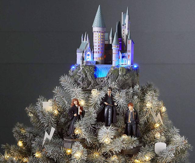 Hogwarts Castle Xmas Tree Topper