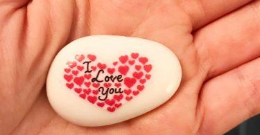 I Love You Stone Heart Congratulations Valentines
