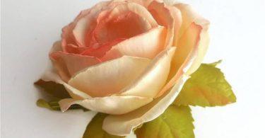 Ivory rose Accessory Bridal hair flower Rose Wedding hair