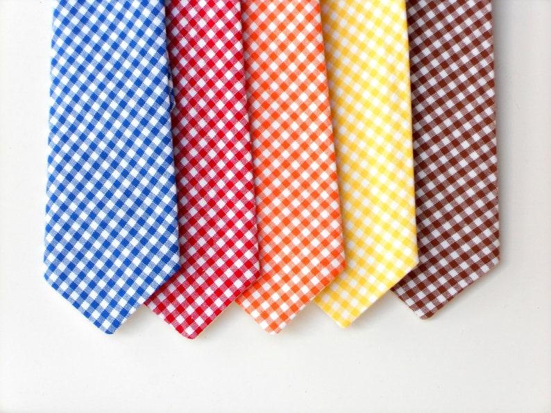 Little boy neck tie baby boy tie toddler red tie boys first