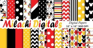 Shabby floral paper  Digital floral paper  Digital download