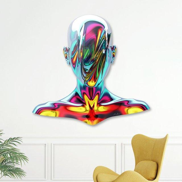 Mirror Die Cut Print by Anthony Gargasz